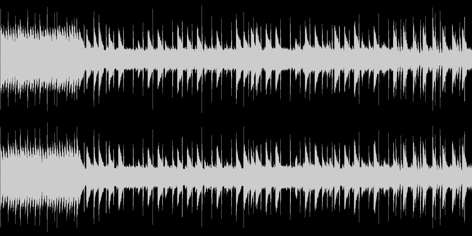 8bit 疾走系チップチューン ループ版の未再生の波形