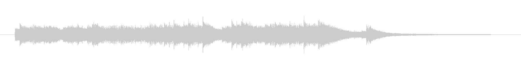 尺:43秒切ないイメージのピアノソロ曲…の未再生の波形