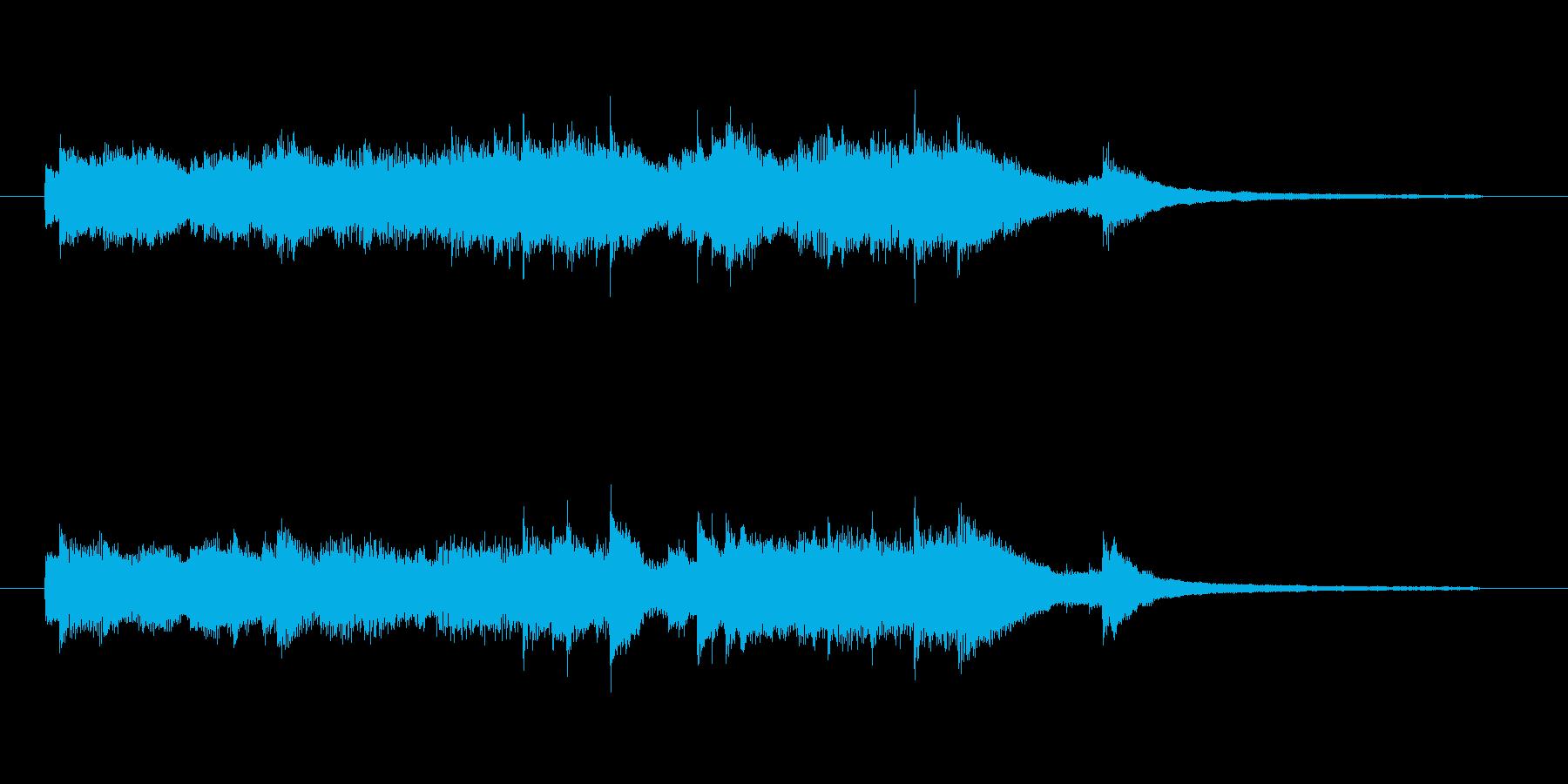 尺:43秒切ないイメージのピアノソロ曲…の再生済みの波形