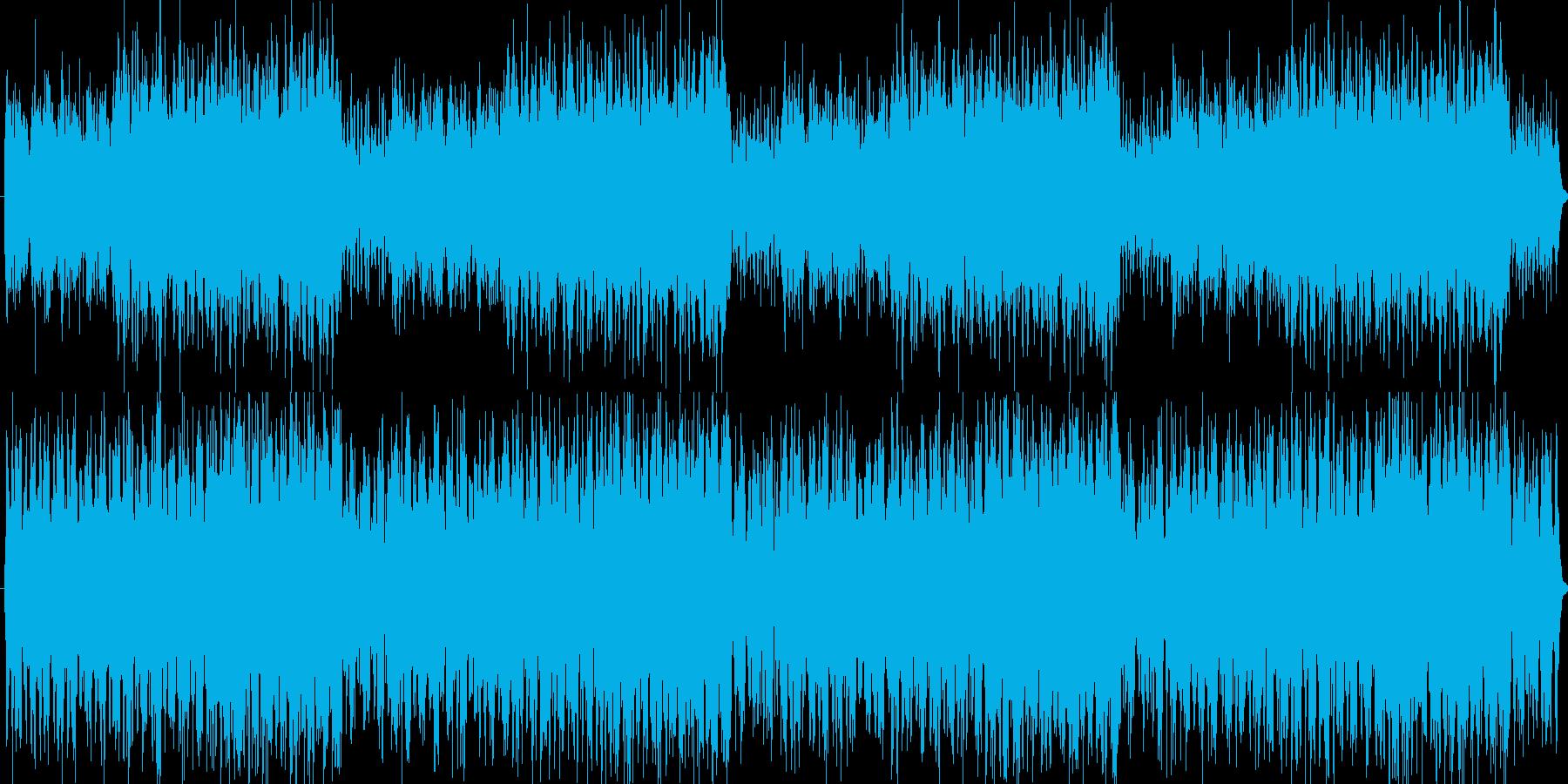 ゲーム等のメニュー画面で使えそうイメージの再生済みの波形