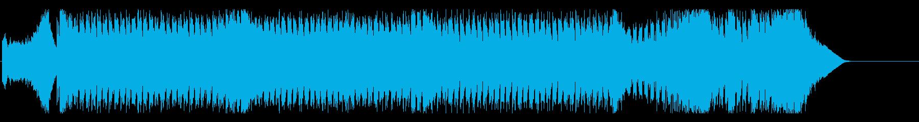 ディスコ スピード 都会 科学 未来の再生済みの波形