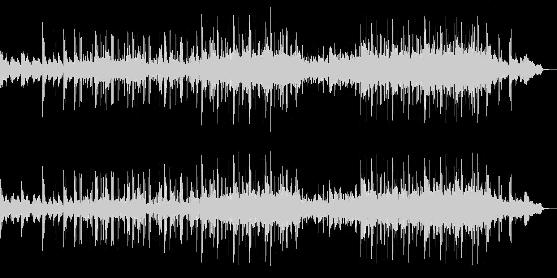 弦とピアノのアルペジオが織りなすサントラの未再生の波形