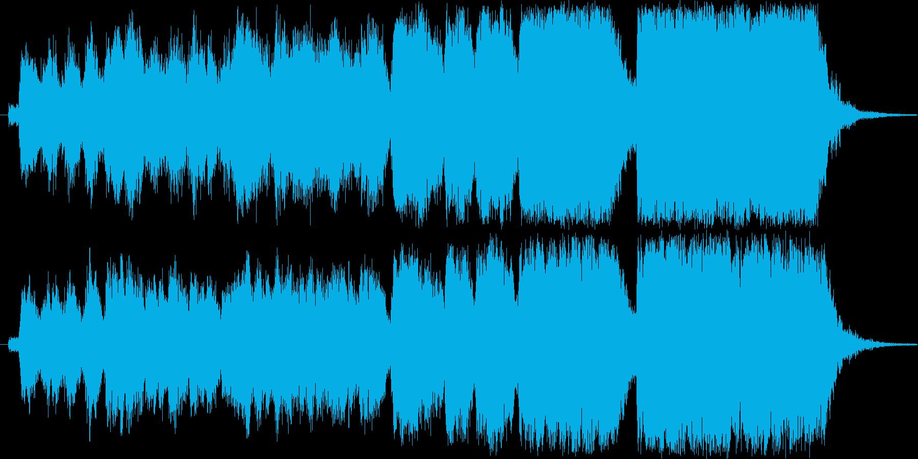 緊張感あるオープニングに。短いオケ曲。の再生済みの波形