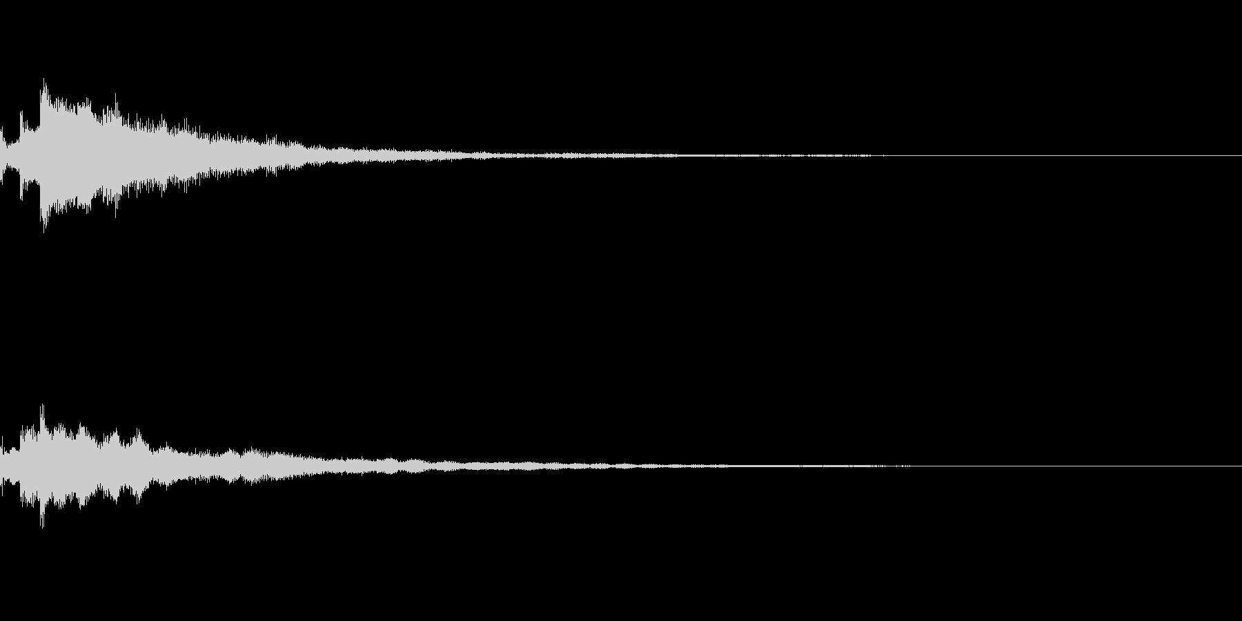 しゃらん♪ (連鎖06)の未再生の波形