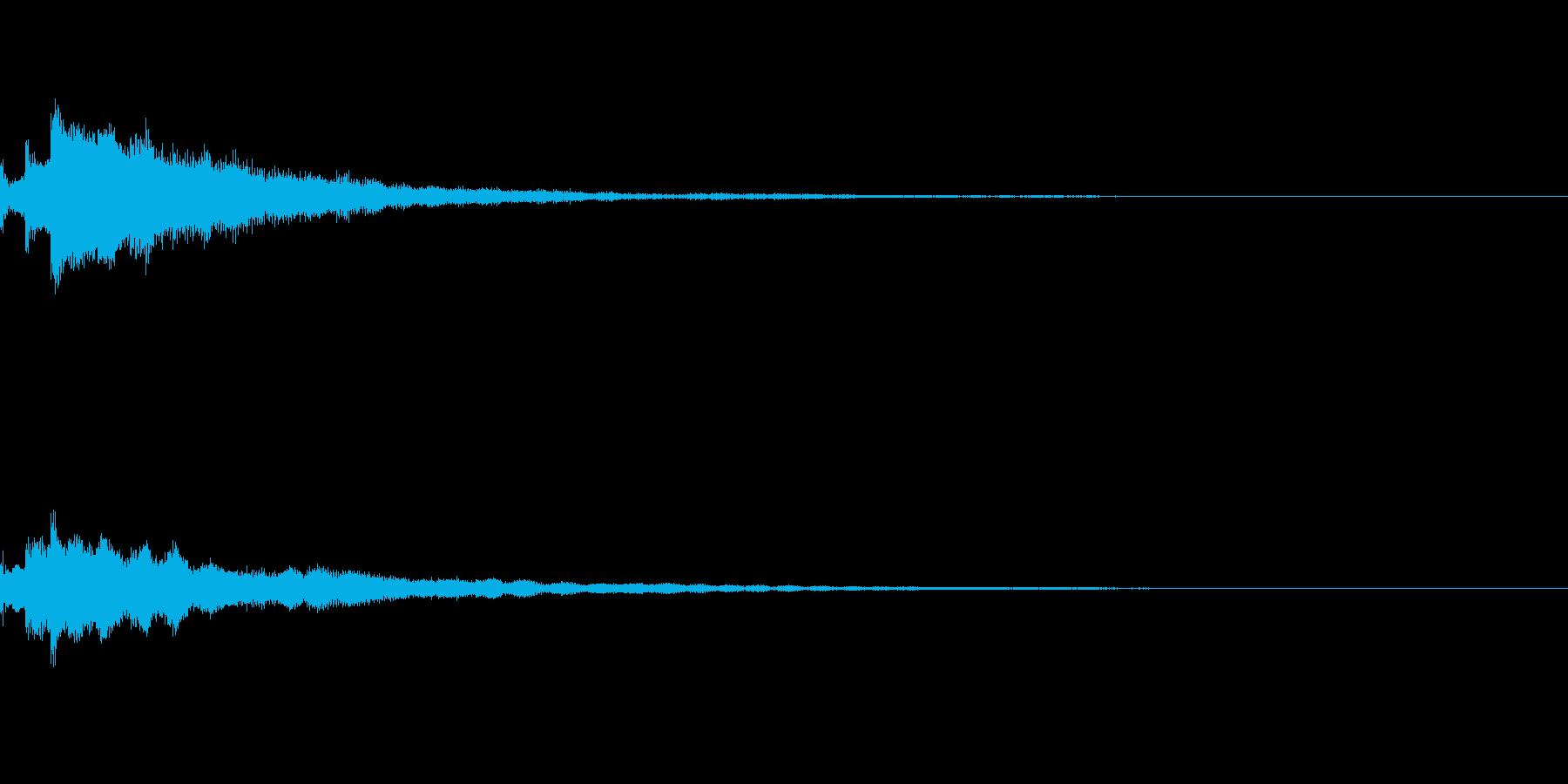 しゃらん♪ (連鎖06)の再生済みの波形