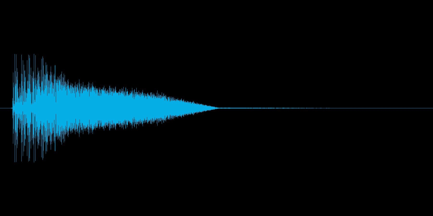 8bitの打撃 ブシャアの再生済みの波形