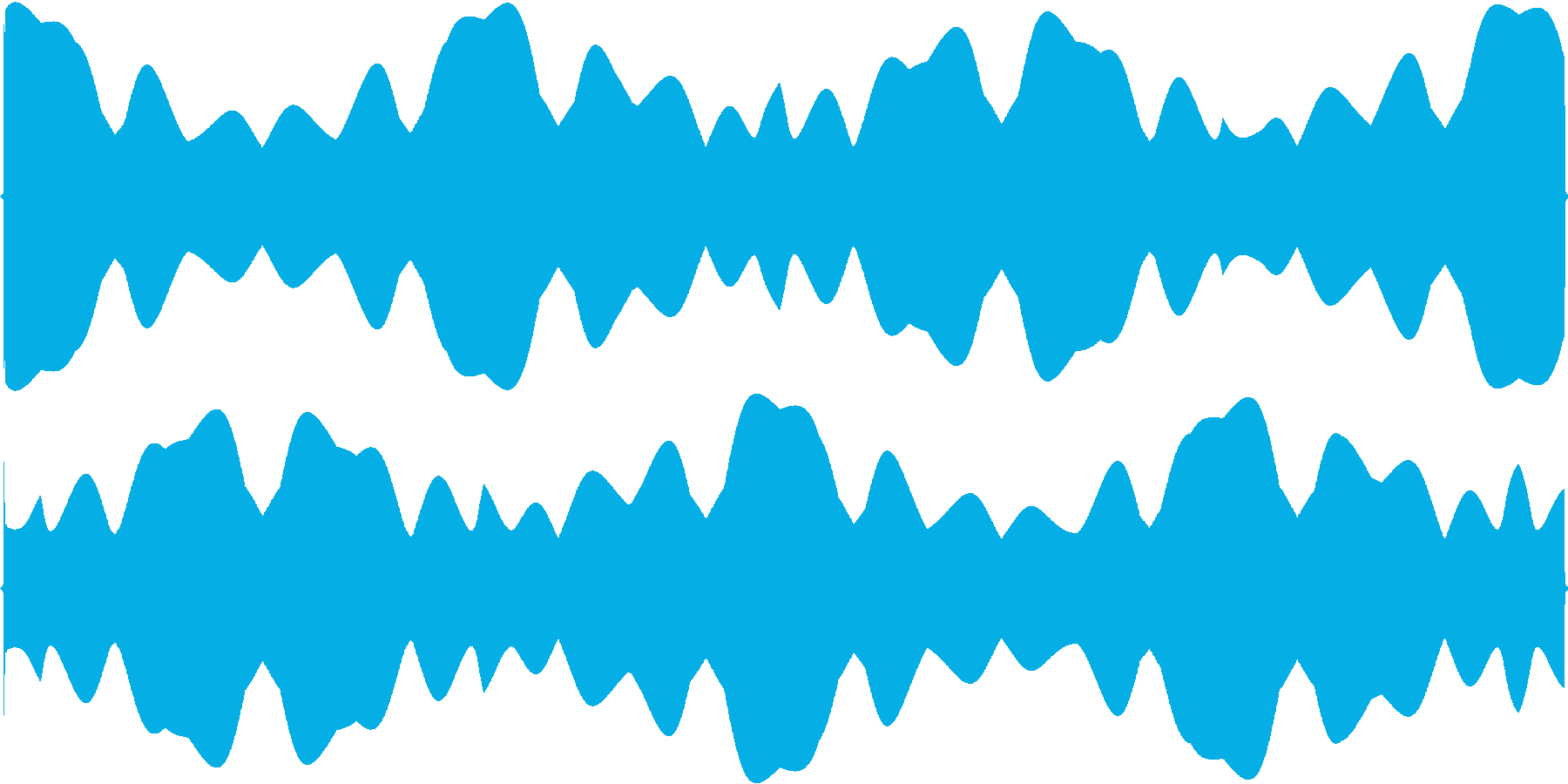 フワフワと浮くイメージSEの再生済みの波形