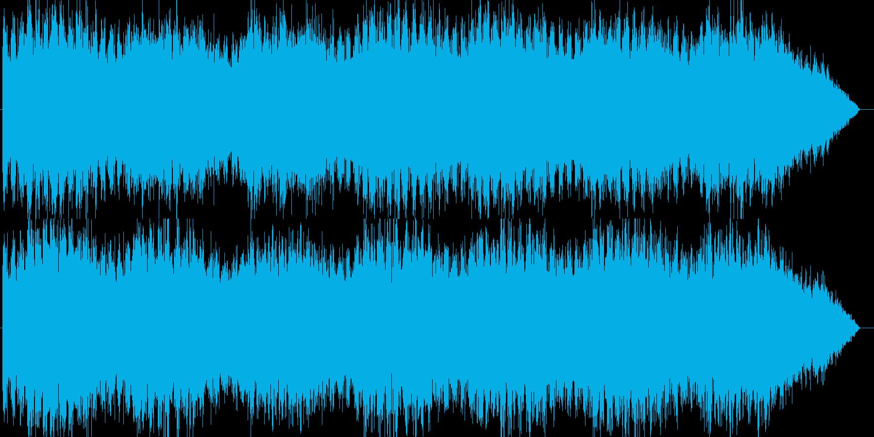 エマージェンシーサイレン タイプBの再生済みの波形