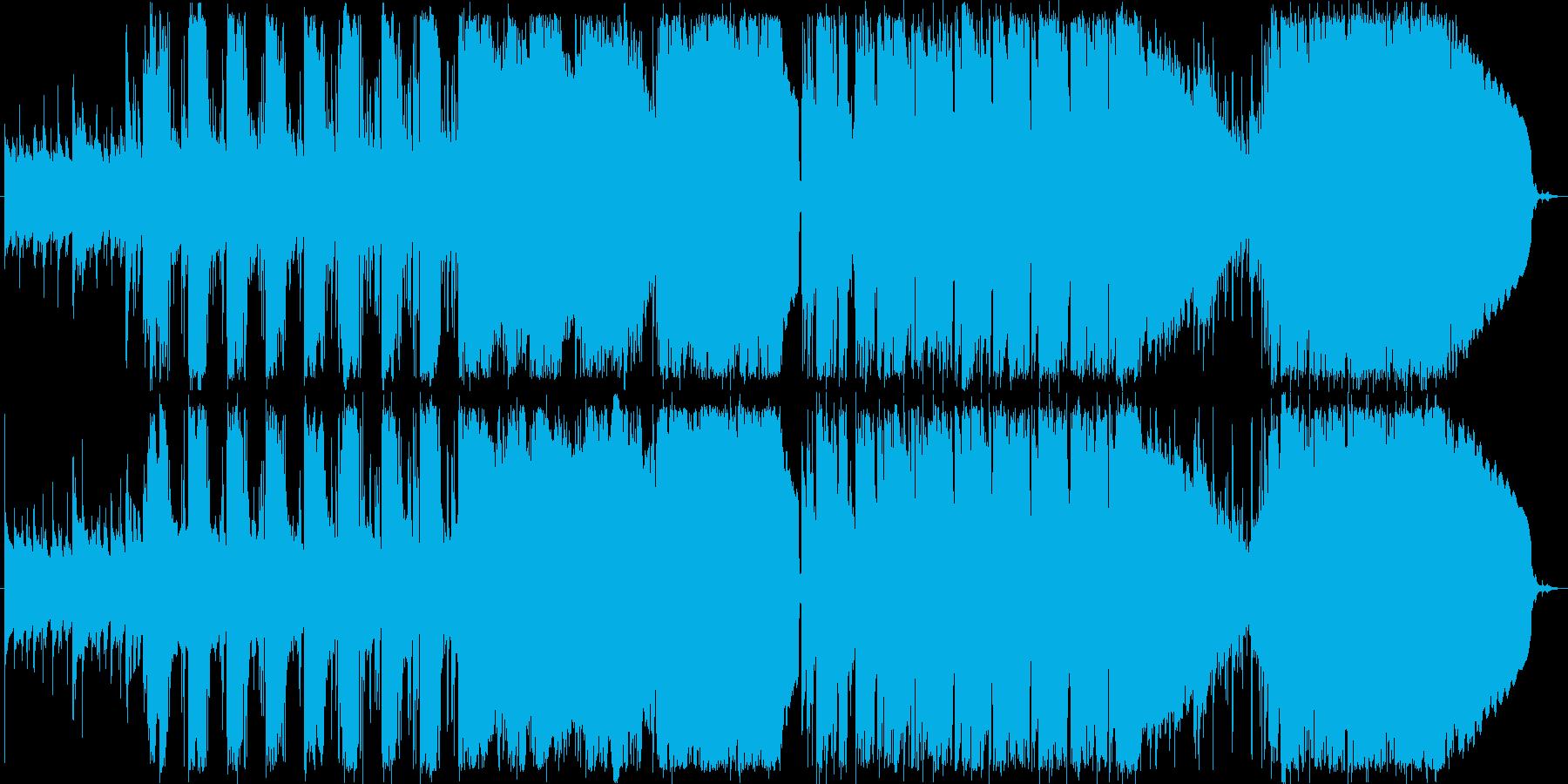 ハミングの入ったさわやかなBGMの再生済みの波形