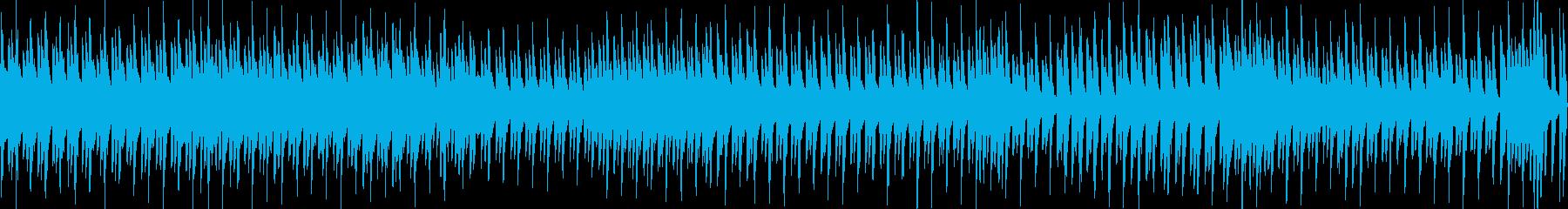トッカータとフーガ&小フーガ(ループ)の再生済みの波形