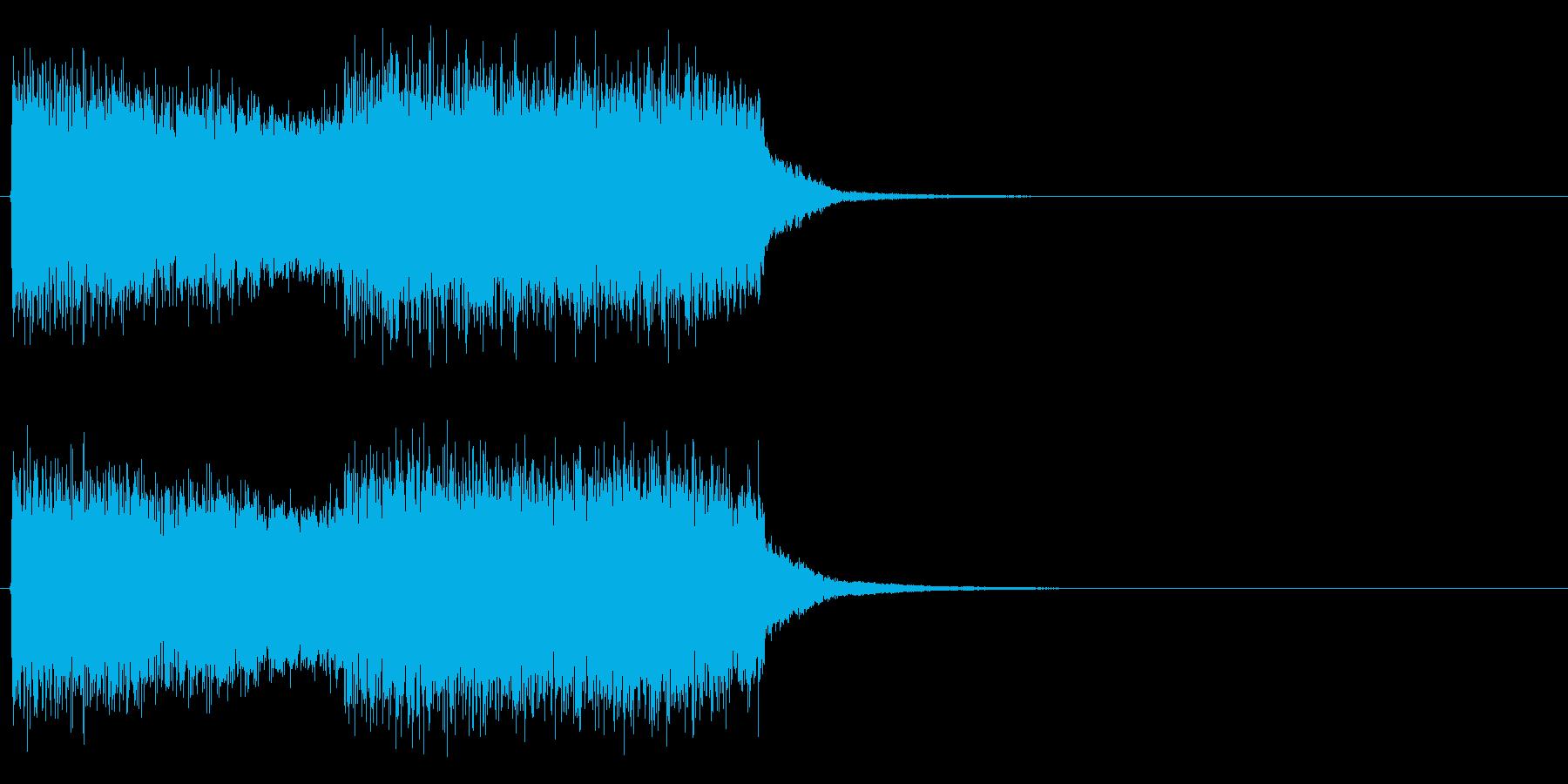魔法発動時のSE(強い魔法、必殺技)の再生済みの波形