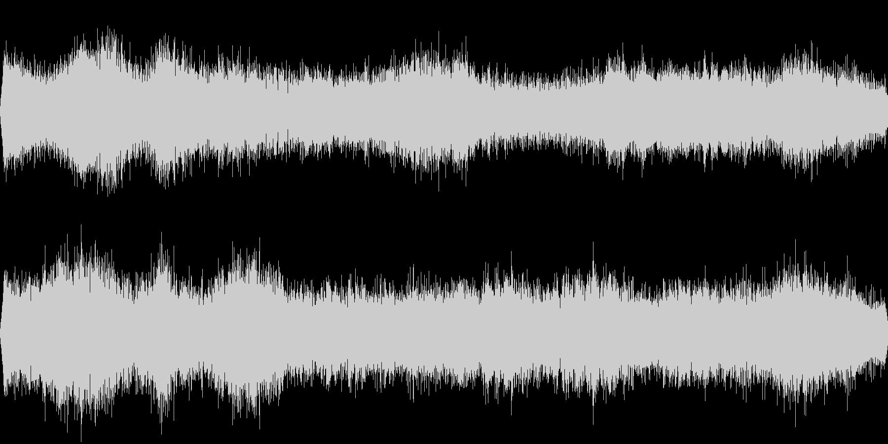 車の通る音の未再生の波形