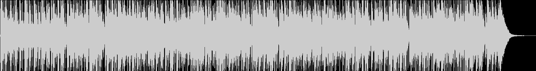 ジプシージャズの未再生の波形