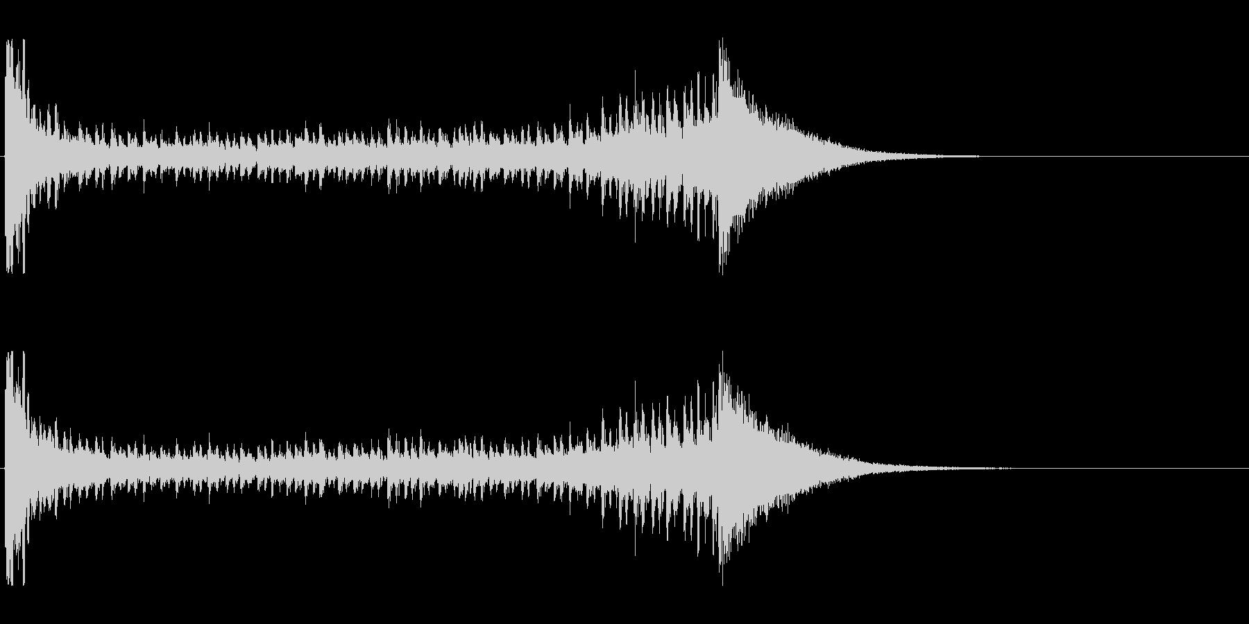 【結果発表01-3】の未再生の波形