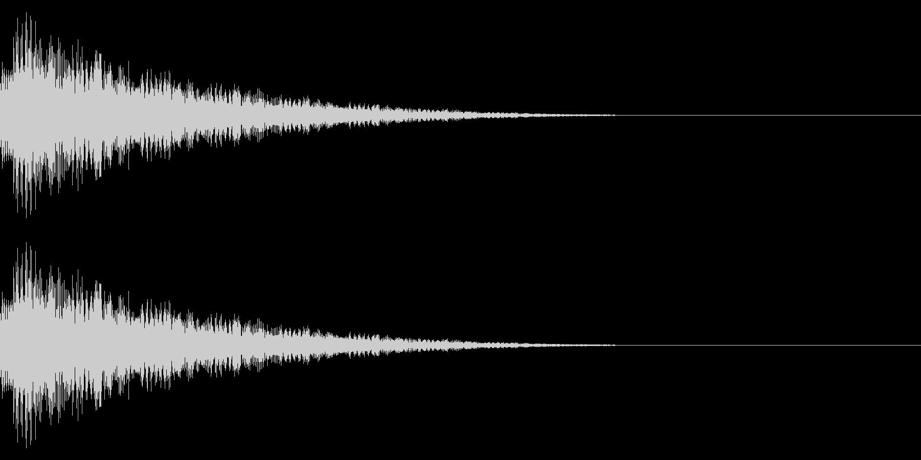 キラキラ…/流れ星/綺麗の未再生の波形