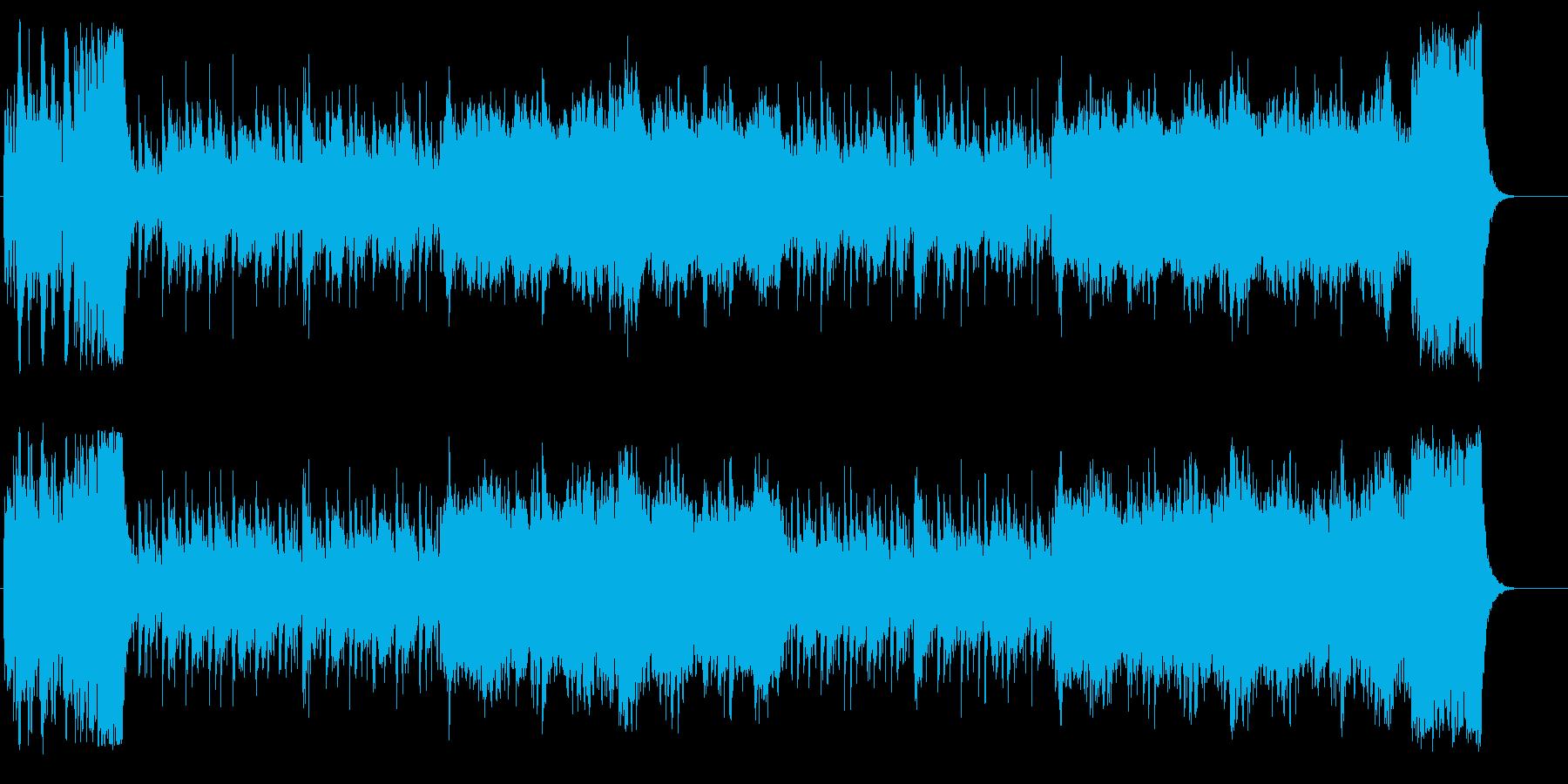 トラディッショナルなコミュニケーションの再生済みの波形
