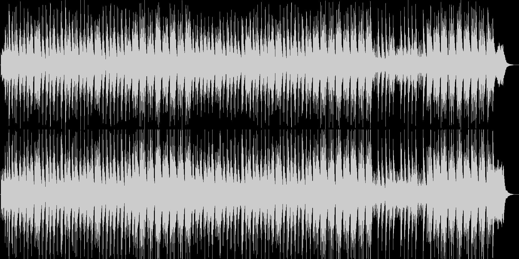 優しく美しいシンセ・ピアノサウンドの未再生の波形