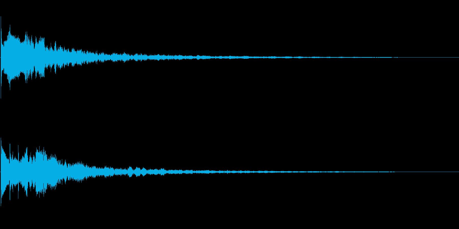 ピコピコとした雰囲気の魔法を唱える音 Gの再生済みの波形