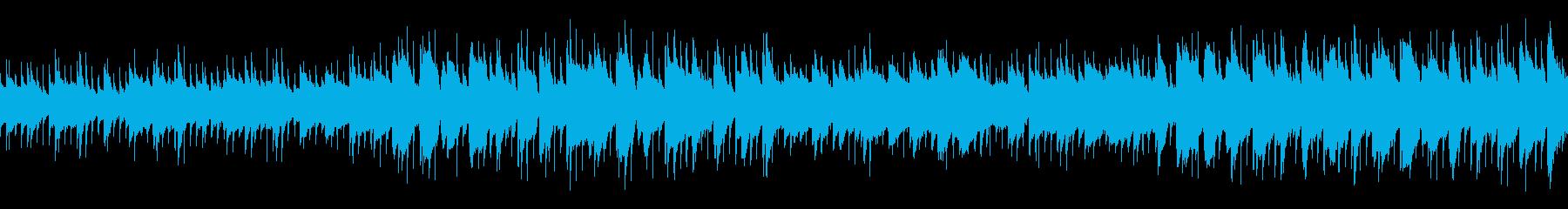 日常系楽曲2(ループ仕様)の再生済みの波形