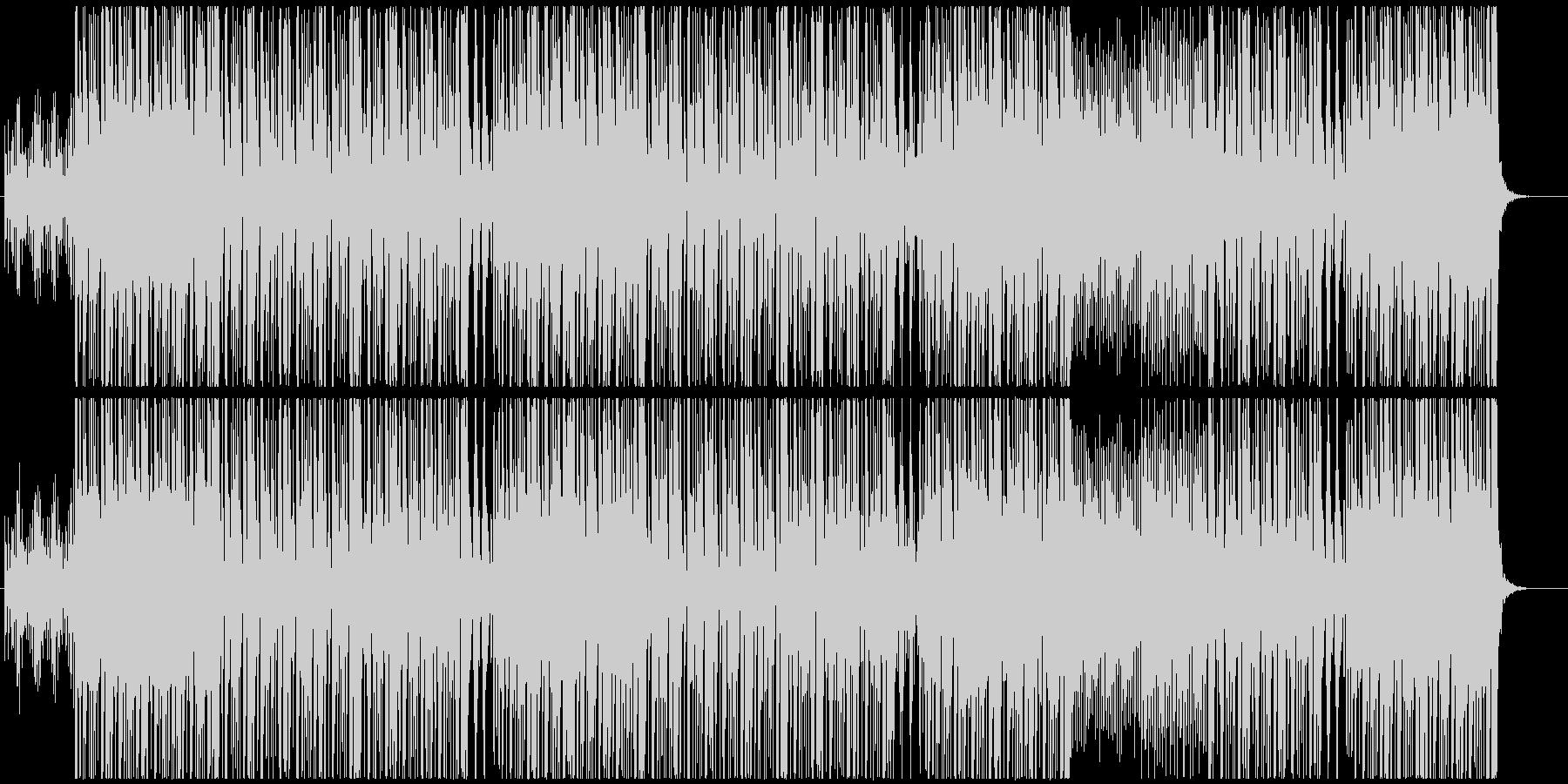 和風ヒップホップトラックの未再生の波形