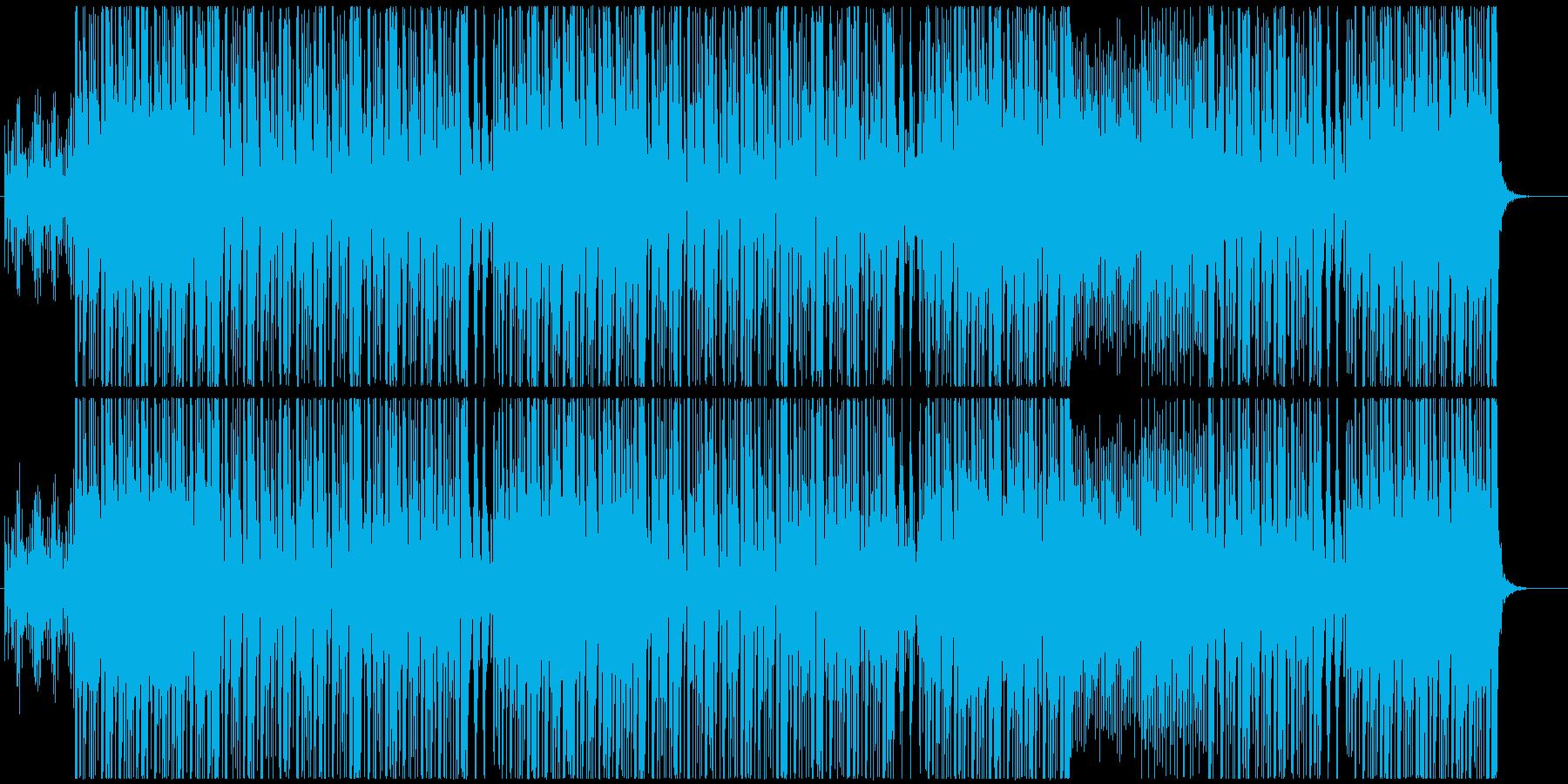 和風ヒップホップトラックの再生済みの波形