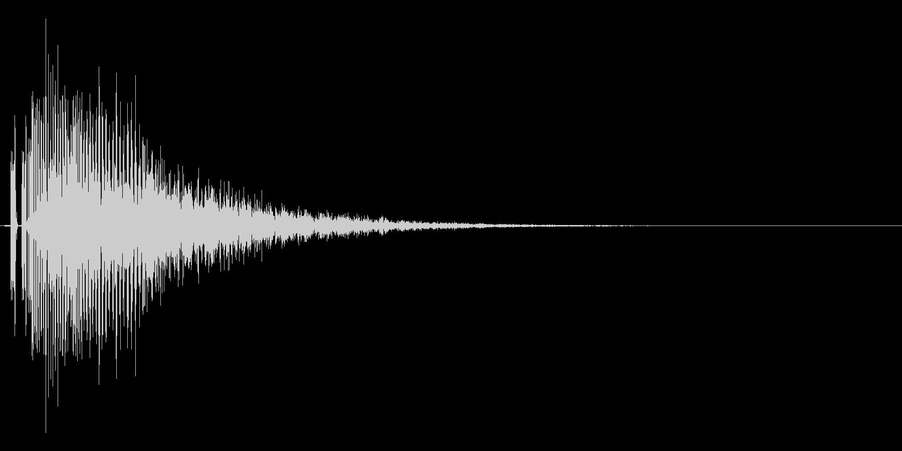 レベルダウン、ステータスダウン等の未再生の波形