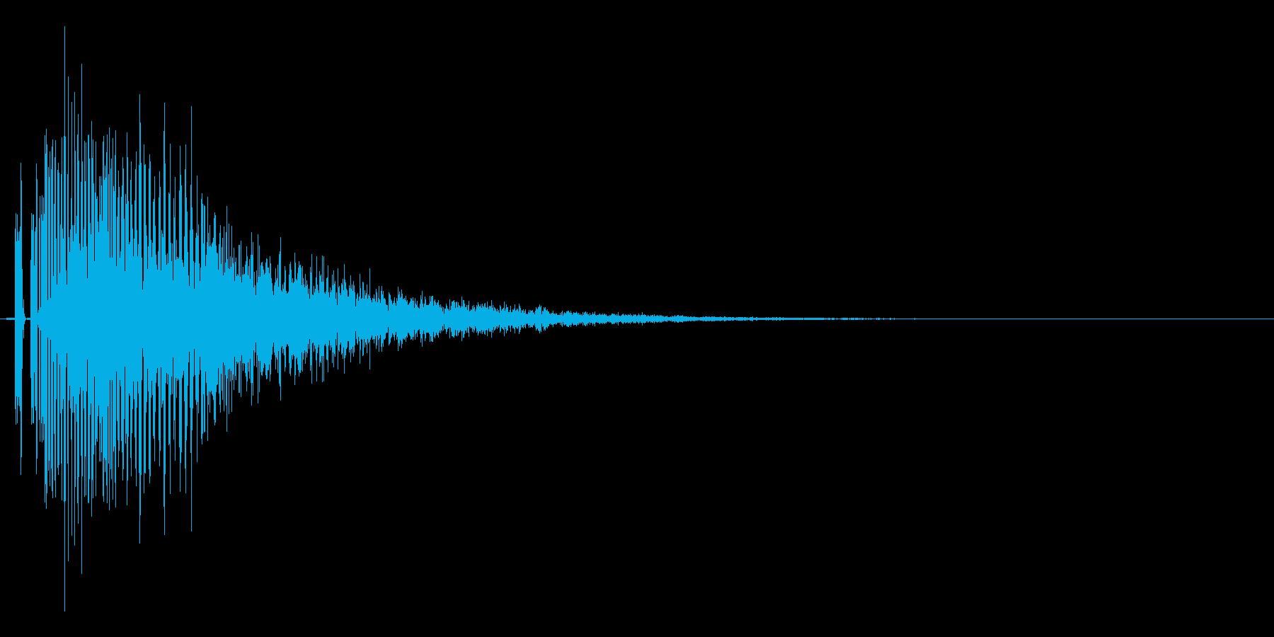 レベルダウン、ステータスダウン等の再生済みの波形