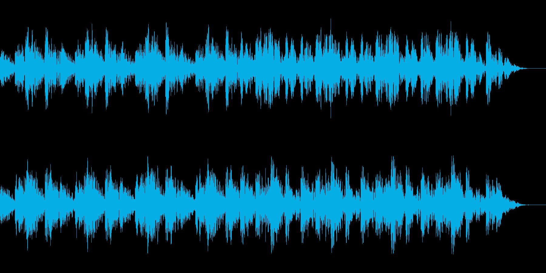 不安・不気味なシンセのメロディーの再生済みの波形