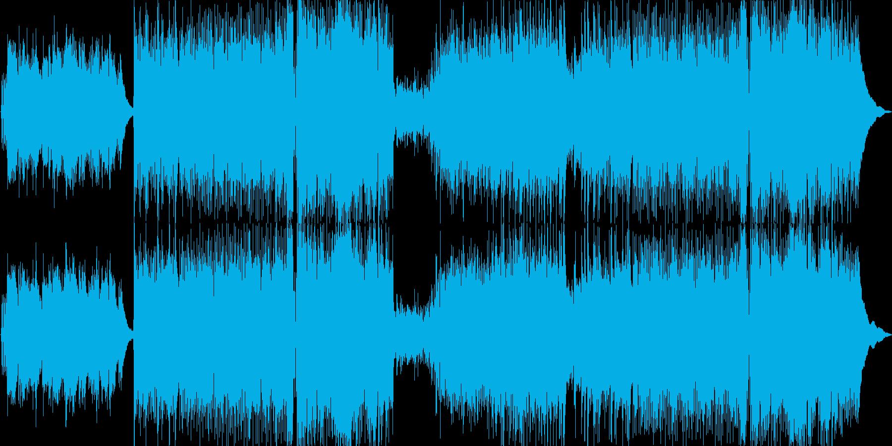切なく緊張感のあるロックの再生済みの波形