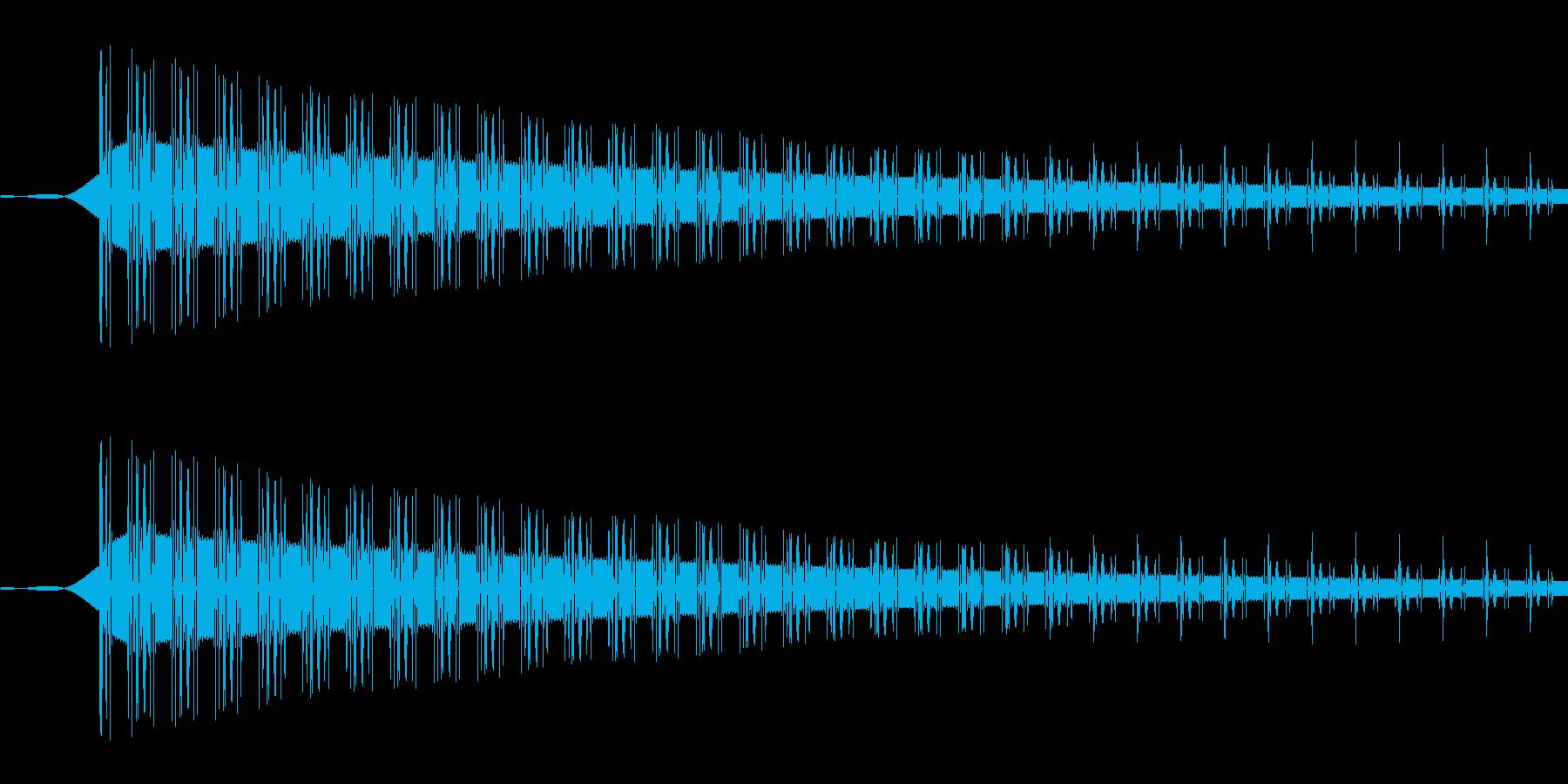 ピッ(選択/カーソル/シンプル/PC)の再生済みの波形