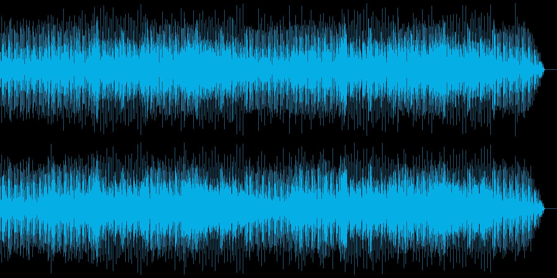 日常、平穏なアコースティックの再生済みの波形