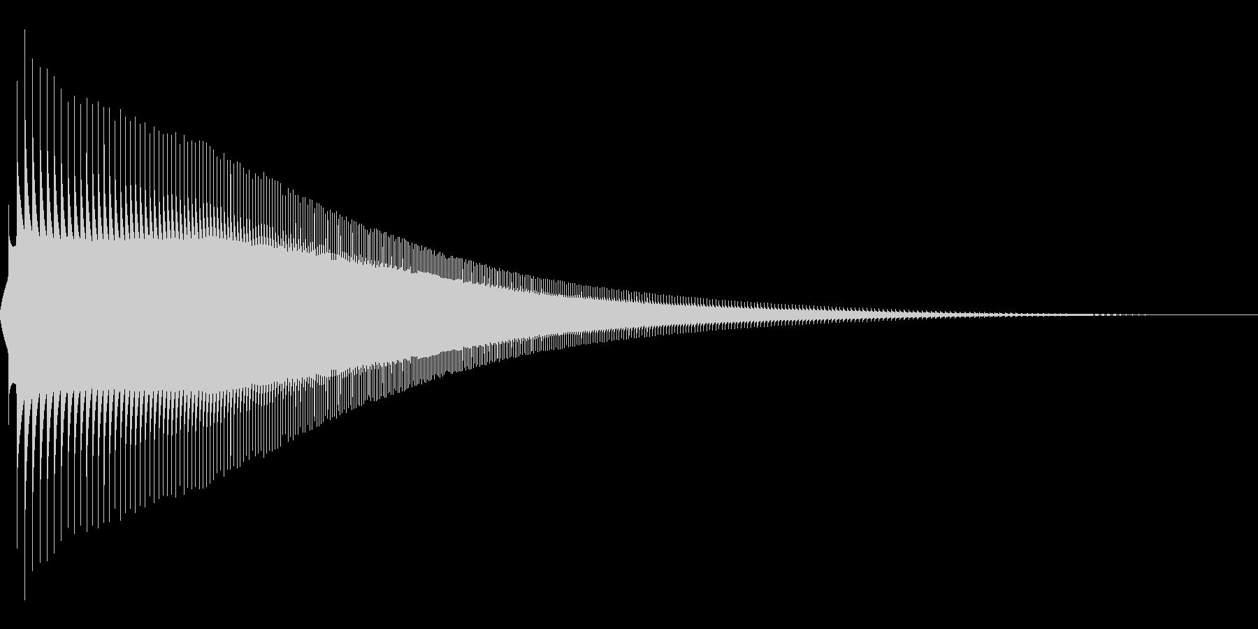 ジャンプ 1B 音程:中の未再生の波形