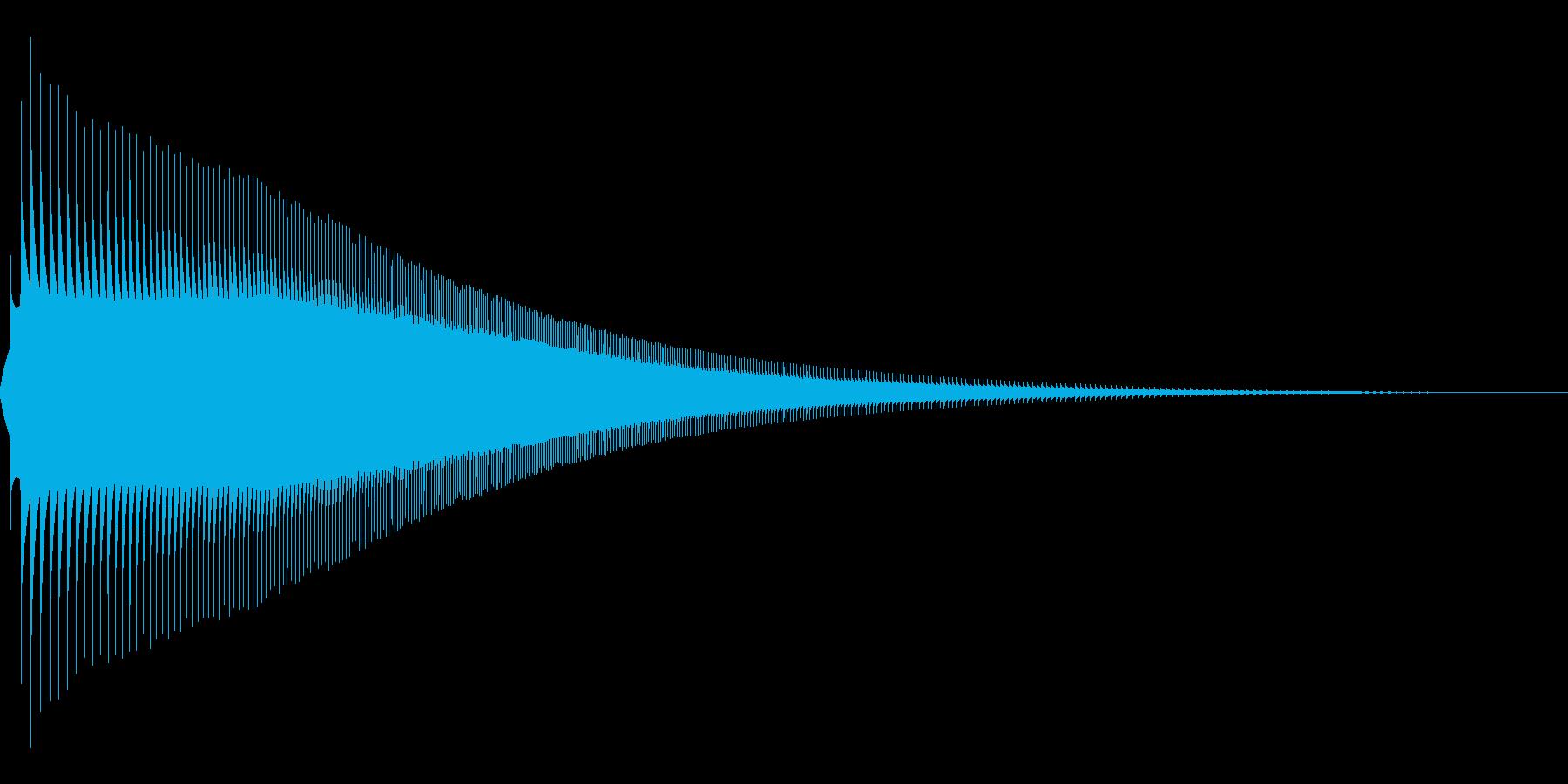 ジャンプ 1B 音程:中の再生済みの波形