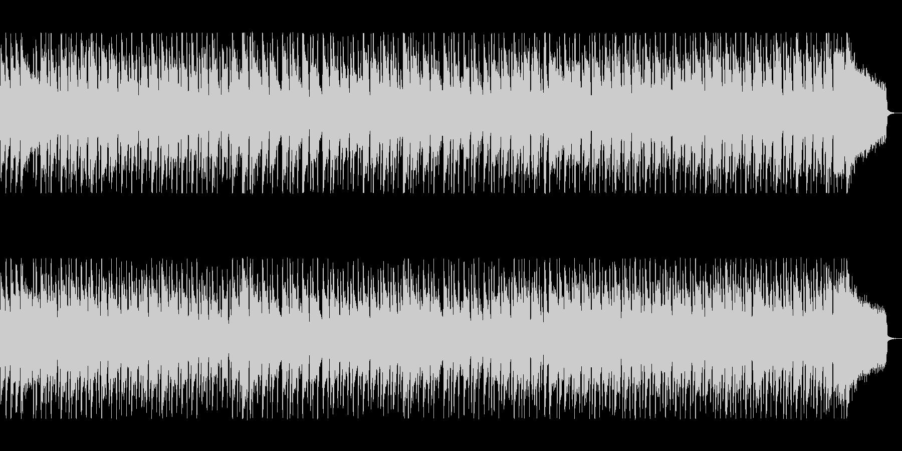 軽やかでキャッチーなシンセポップサウンドの未再生の波形