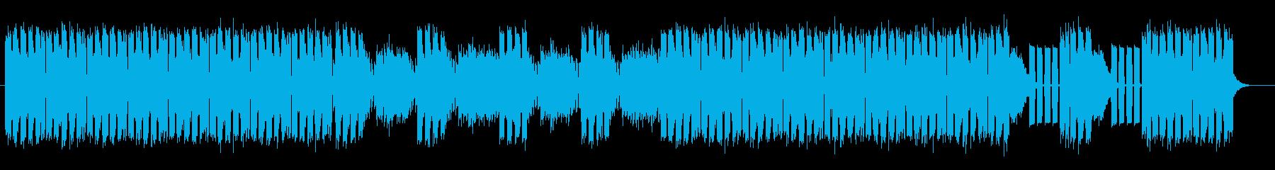 ミステリアスなスピリチュアルサウンドの再生済みの波形
