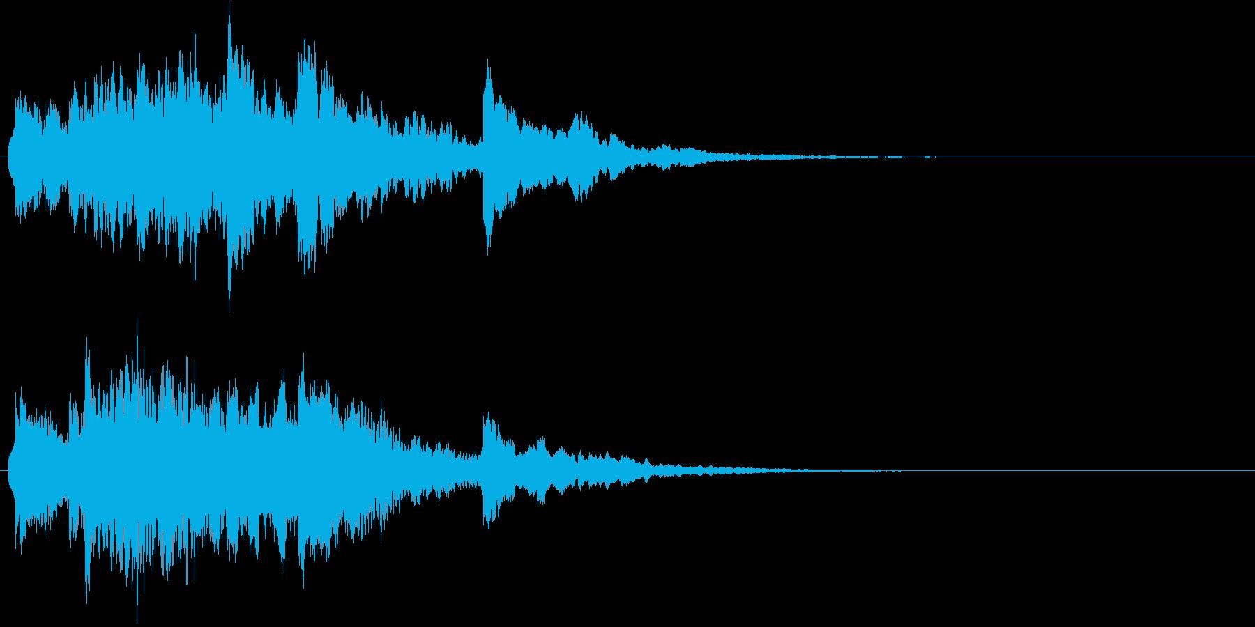 キラキラキラ…(銀世界、結晶、冷たい)の再生済みの波形
