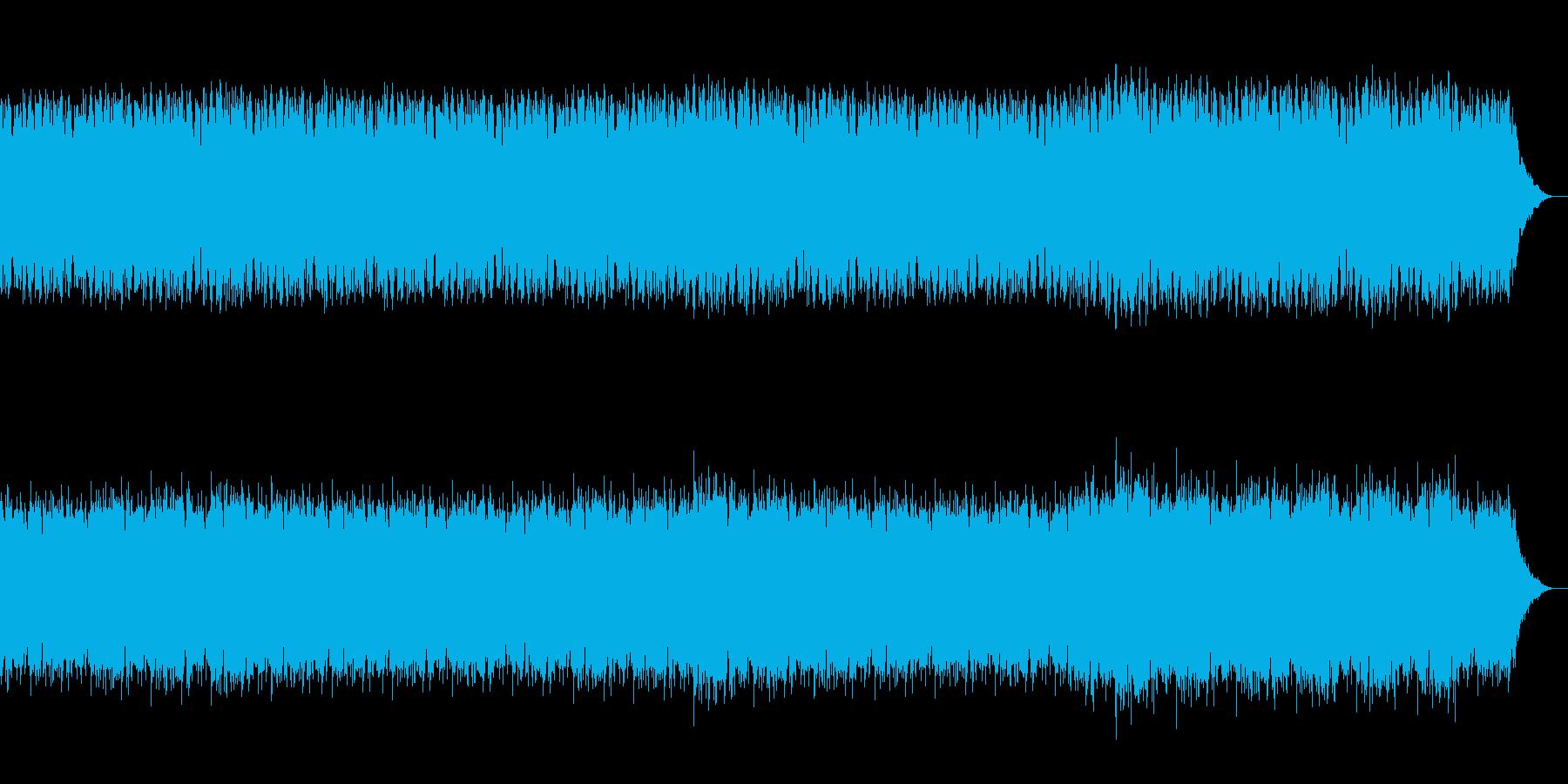 お化け屋敷 怪談 ホラー(背景用)の再生済みの波形