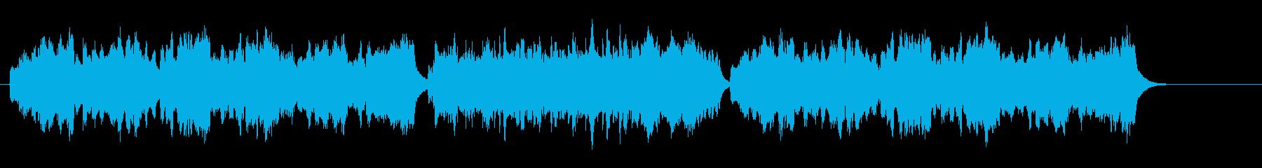 バロック風味のコンチネンタルミュージックの再生済みの波形
