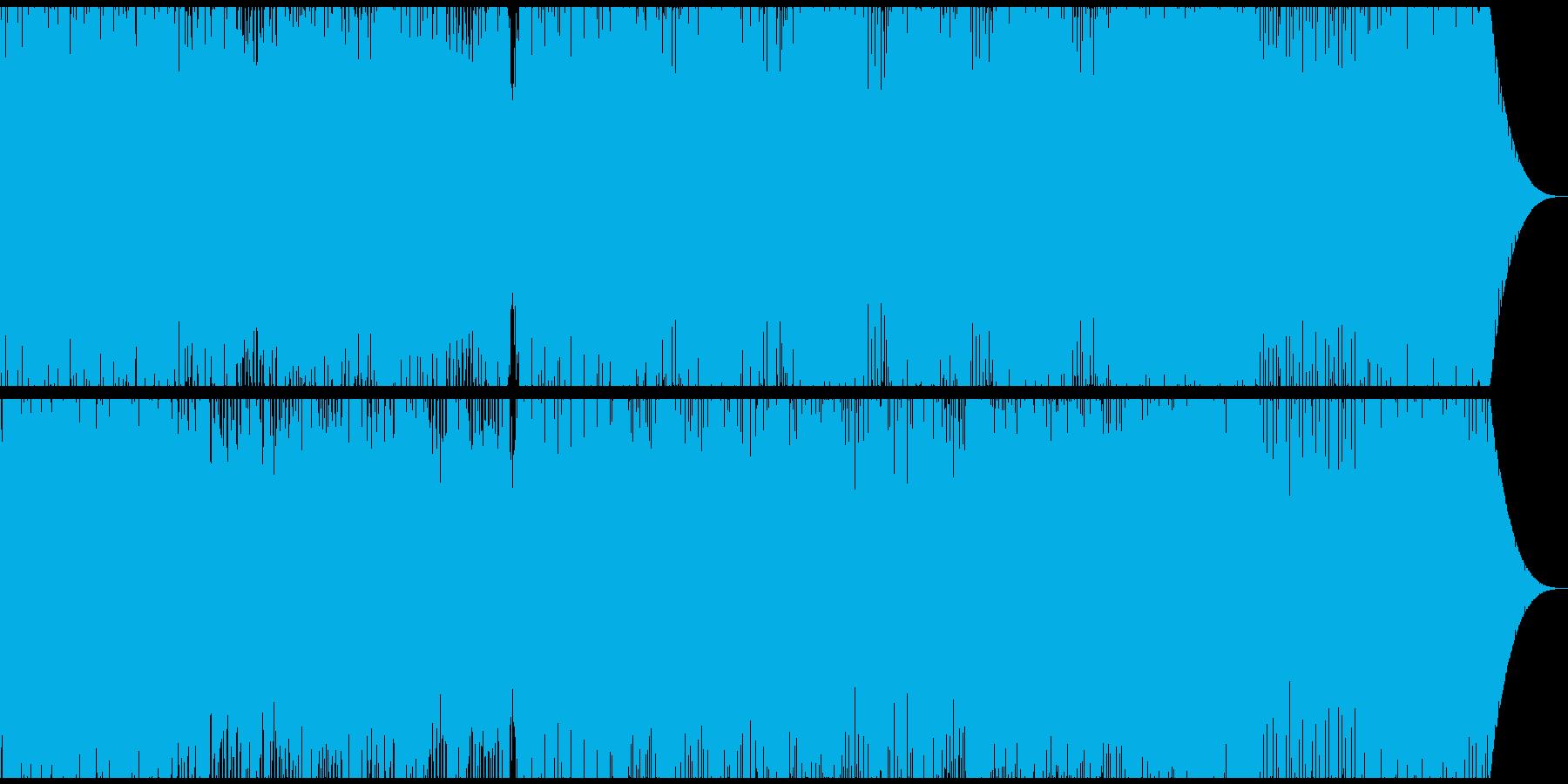 海中をイメージした幻想的なBGMの再生済みの波形