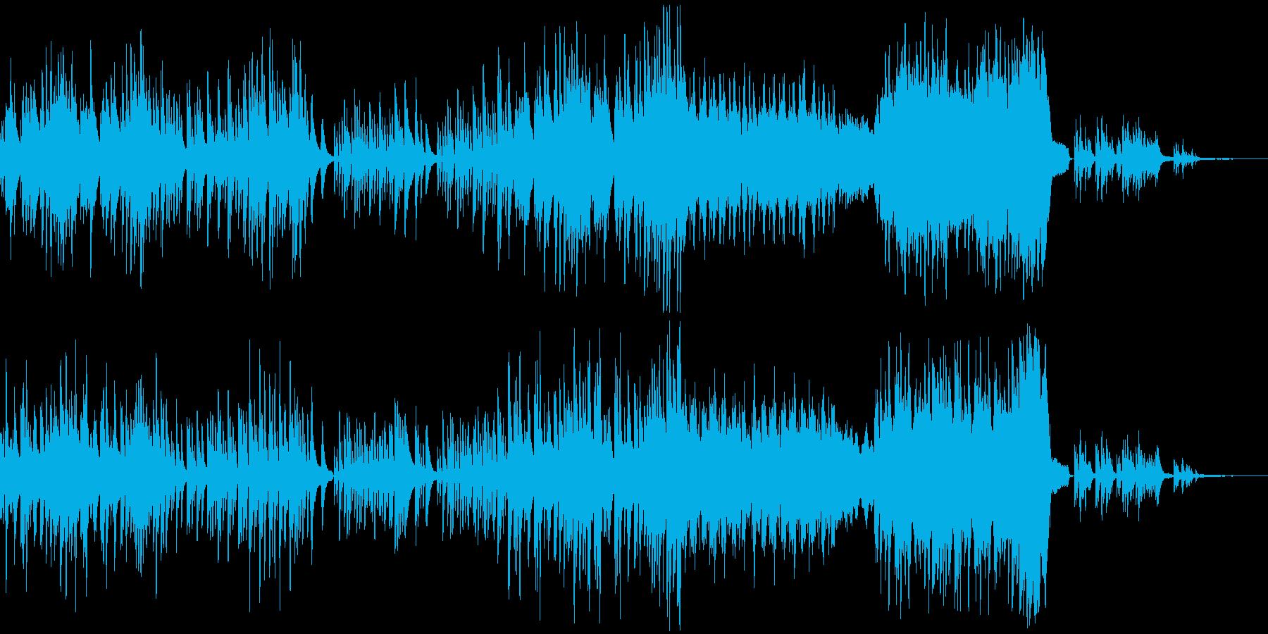 p008_しっとり寂しげなピアノソロの再生済みの波形
