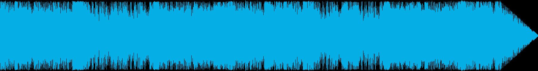 戦闘系のトランスの再生済みの波形