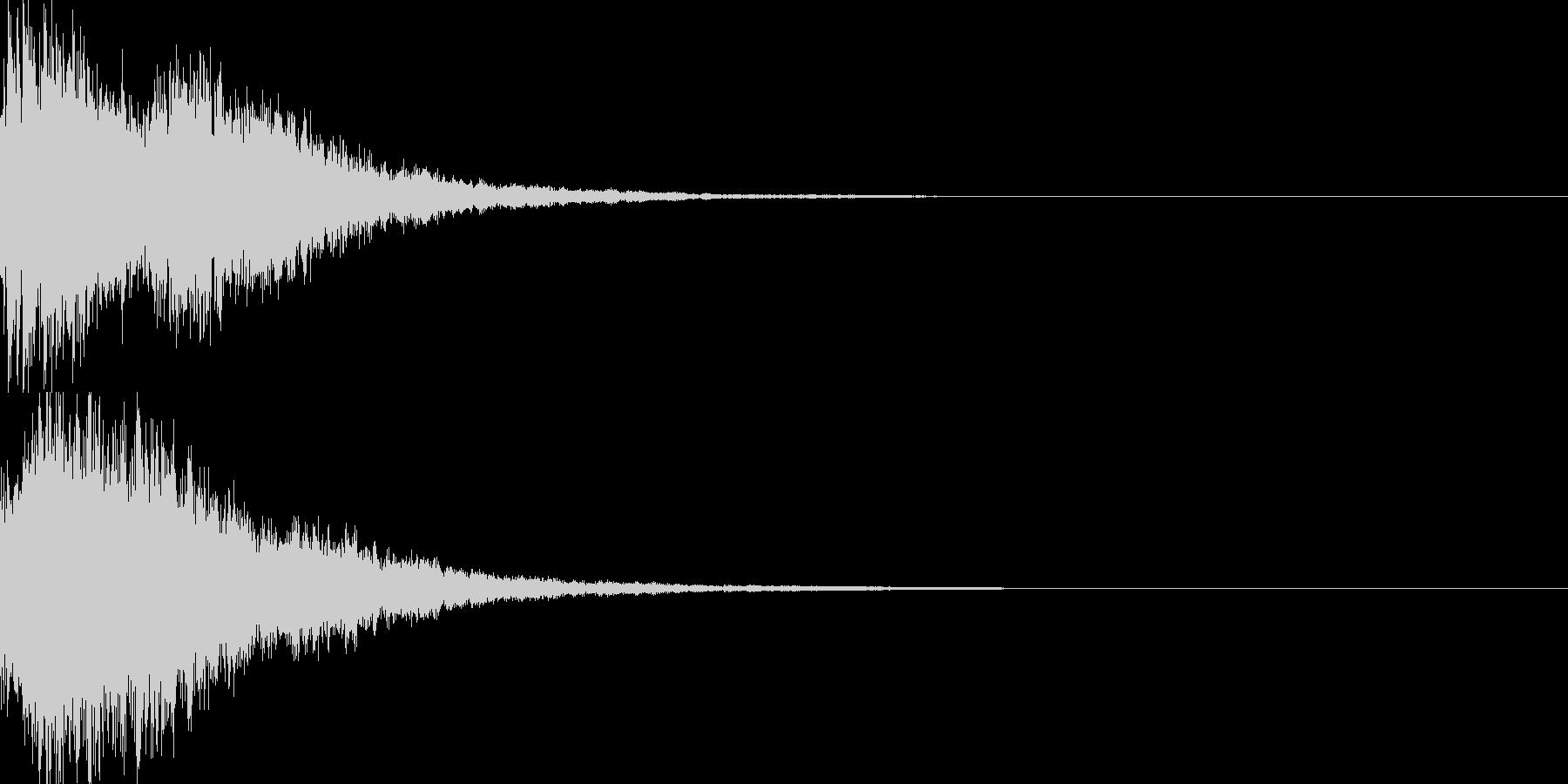 決定音58_シンセZの未再生の波形