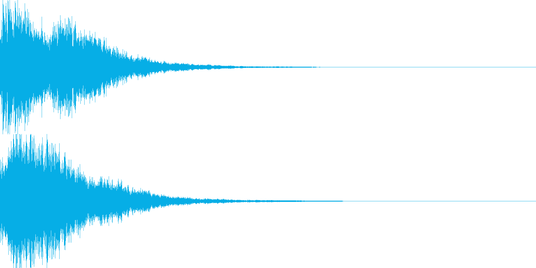 決定音58_シンセZの再生済みの波形