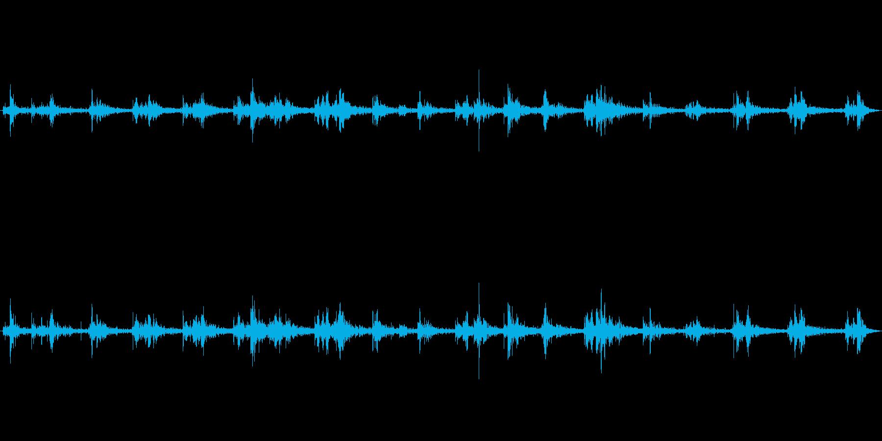 海の中(環境音)の再生済みの波形