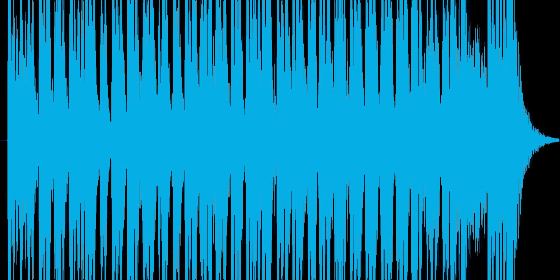 激しいクラシカルの再生済みの波形