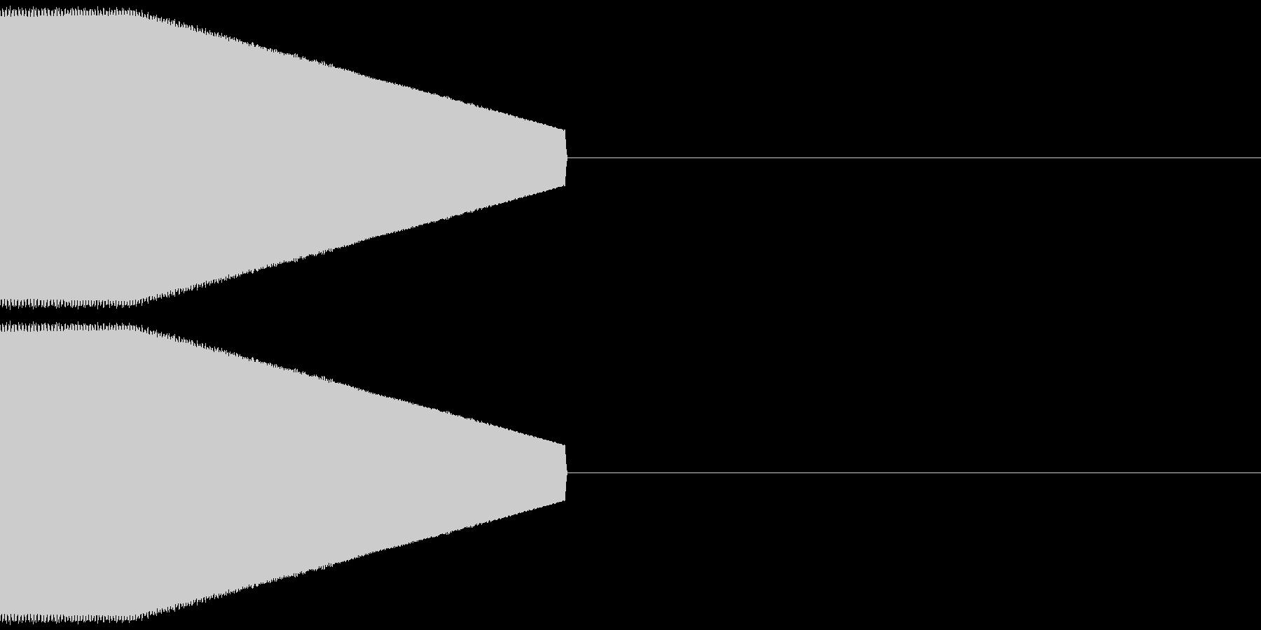 決定音・選択音・入手音【4】の未再生の波形