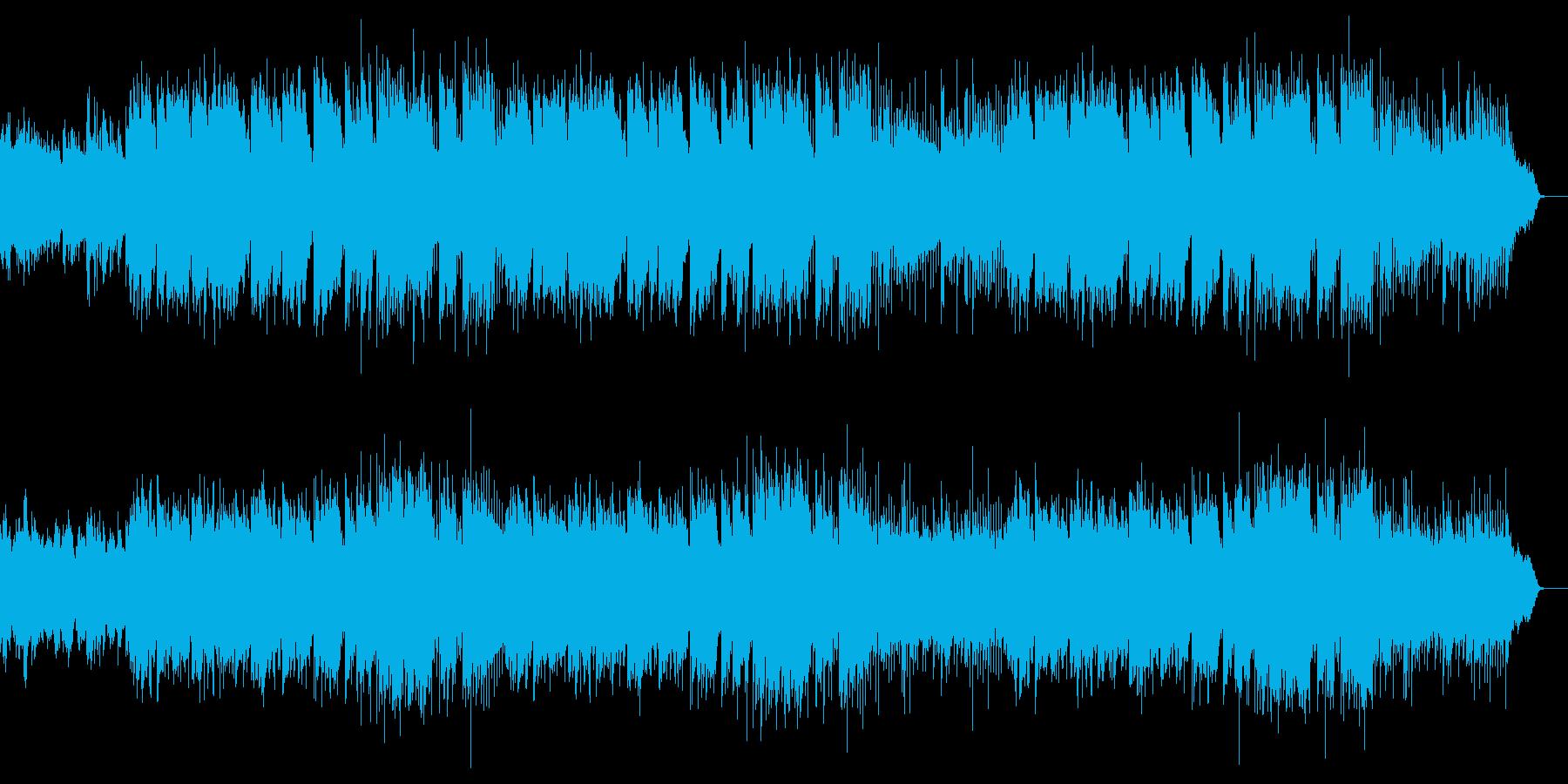 シリアスなドラマの挿入歌の様なムード歌謡の再生済みの波形