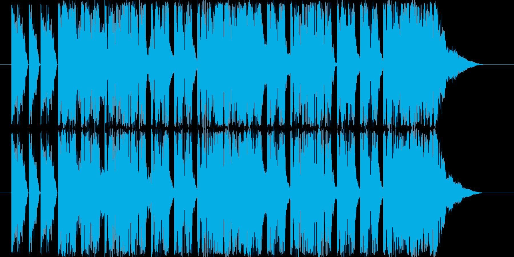ダンサブルなエレクトロ(11秒ジングル)の再生済みの波形