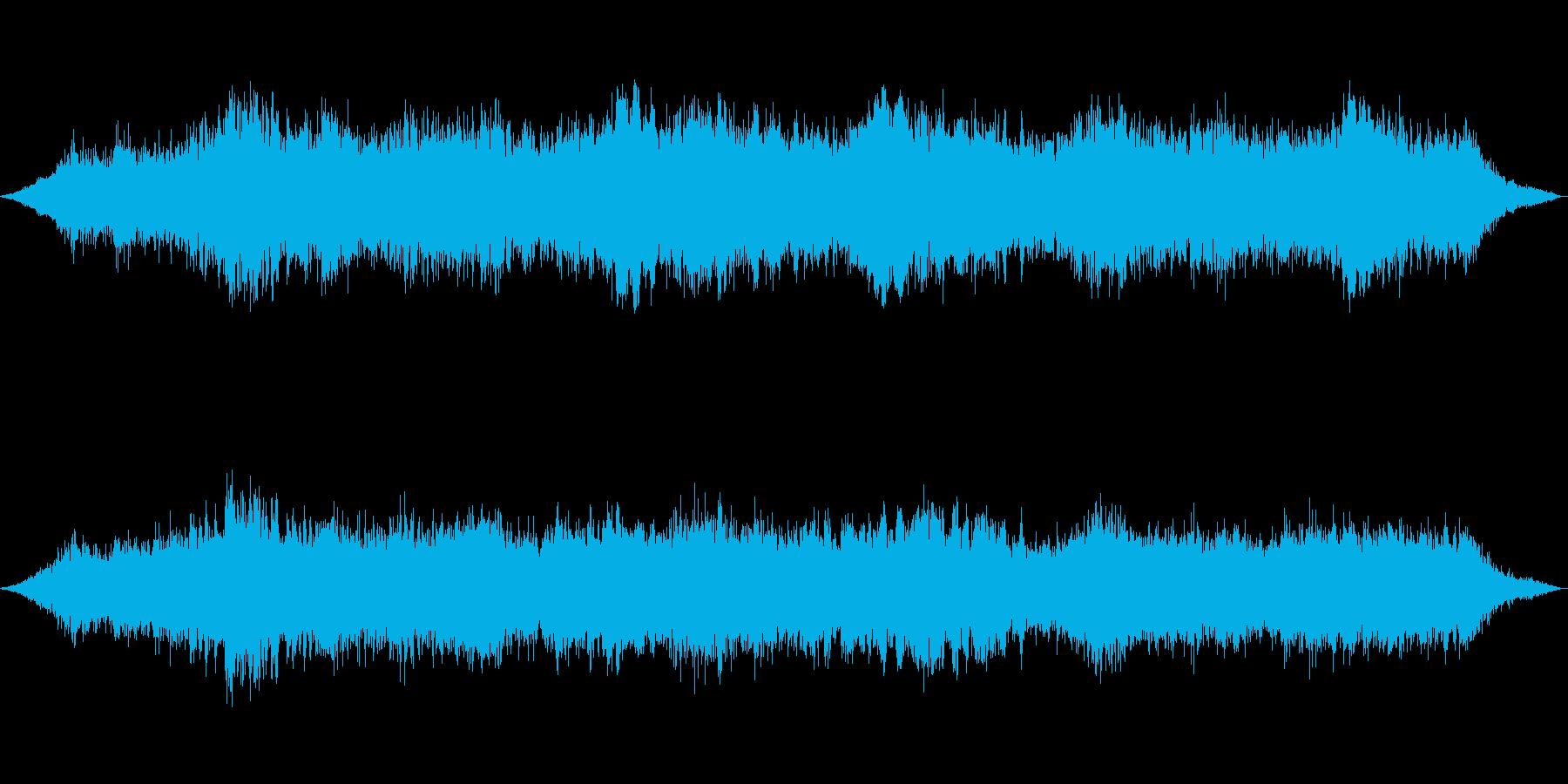 無機質な感じですの再生済みの波形
