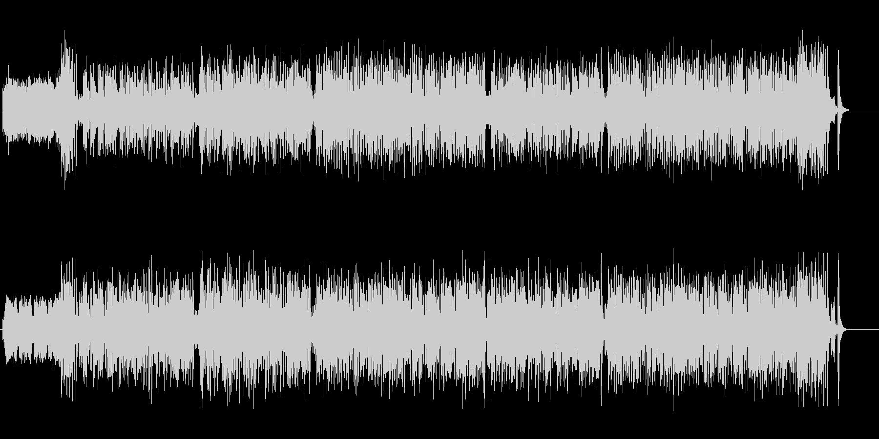 軽快なフラメンコ調ジプシー系ワールド音楽の未再生の波形